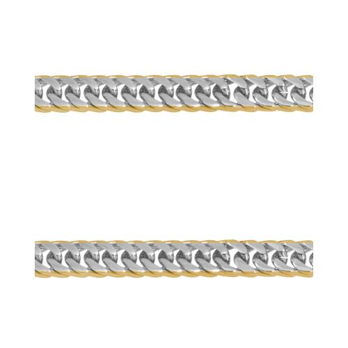 Corrente Aço Groumet Duplo IPG Lateral 6.95mm 50cm
