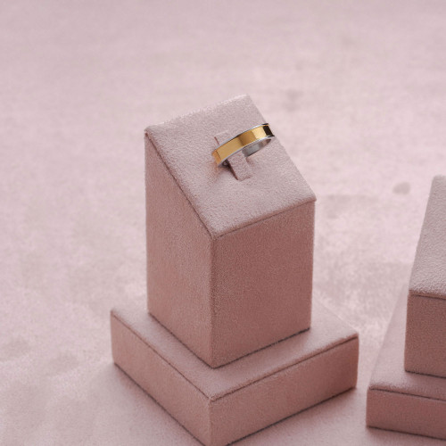 Aliança de Namoro Apolo 5mm com IPG