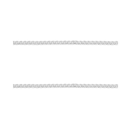Corrente Prata Veneziana Fina 0.70mm 40cm