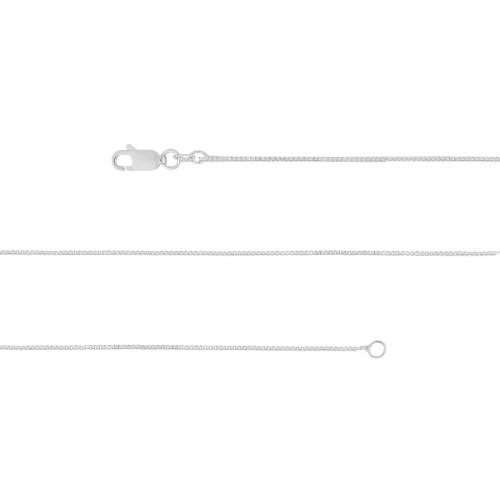 Corrente Prata Veneziana 0.70mm 45cm