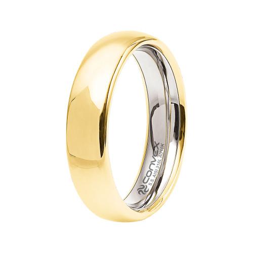 Aliança de Casamento Goldness Lisa 5mm